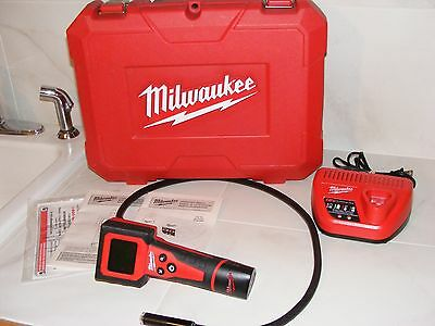 Milwaukee 12V Cordless Digital Inspection Camera 2310-10 W/charger & Case*tested