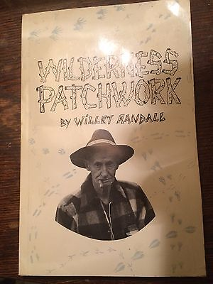 """""""Wilderness Patchwork """"By Willet Randall 1968 Adirondack Living 1st Ed"""