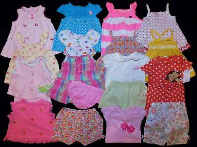 22 pc. Baby Girl 0/3 Months Summer Outfits Clothes Lot Free Ship!