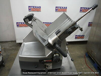 "HOBART Automatic Deli Meat Slicer 12"" Blade with Sharpener, Model 2912"
