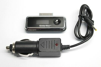 Wireless Gear 30-Pin FM Transmitter for Older iPod to Car Stereo Radio