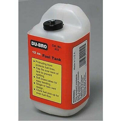 Dubro 412 S12 Square Airplane Fuel Tank 12 oz