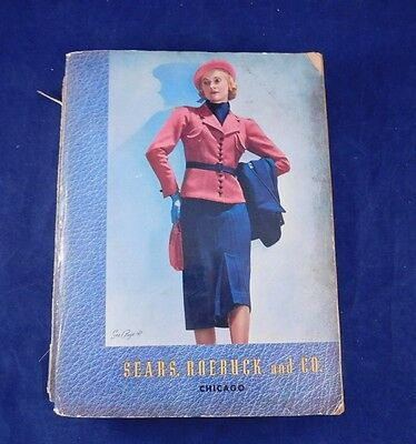 Sears Roebuck Co Catalog 1937-1938 Fall Winter Fashion Household 1160+ Pages