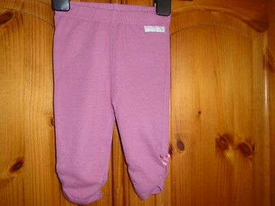 1 Baby girls heather pink leggings, MOTHERCARE, 0-3 months