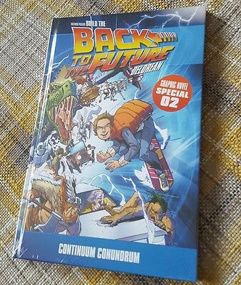Back to the future Graphic Novel Special 02 HB IDW Eaglemoss delorean BN sealed