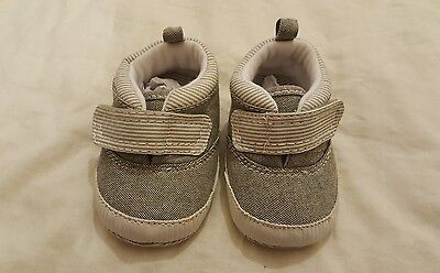Baby boy shoes booties pre-walker pram shoes 0-3 months