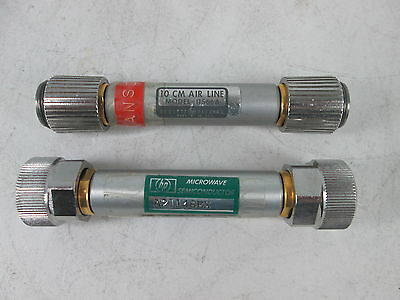 LOT OF 2 HP Agilent Hewlett Packard 10 cm Air Line Model 11566A