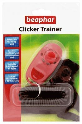 Clicker Trainer for Training your dog - Effective Training Aid - Beaphar Clicker