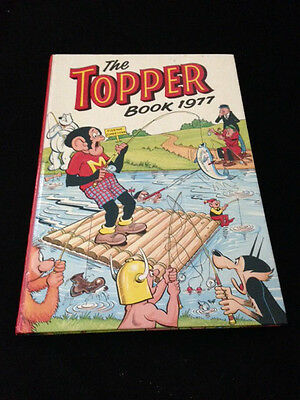 The Topper 1977 Vintage Annual Comic Hardback Book Excellent Condition