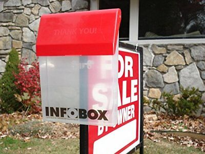 INFOBOX Outdoor Brochure Box Real Estate Literature Flyer Document Holder