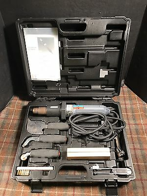 Steinel hot air welding kit for flooring Roofing HG2300EM Used Once