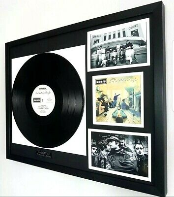 Oasis-'Definitely Maybe' Original Vinyl Album-Limited Edition-Liam Gallagher
