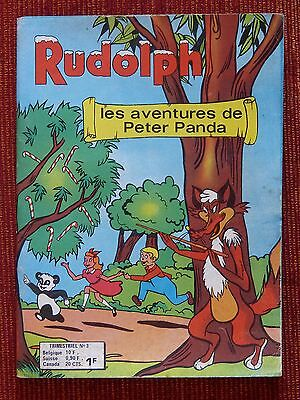 RUDOLPH N°3 - Editions AREDIT 1974 TBE