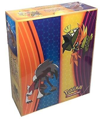 Pokemon Sun & Moon Guardians Rising Box of 12 Mini Collector's Albums
