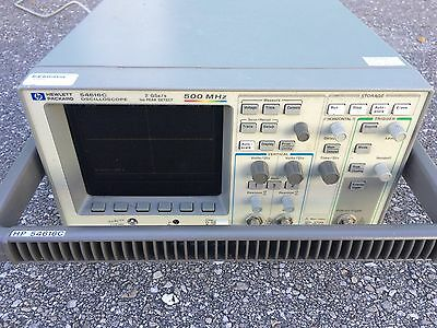 HP 54616C Color Digital Oscilloscope 500Mhz 2GS/s 1ns Peak Detect