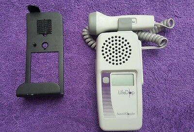 Summit L250 Fetal Doppler w/ 3mHz & Probe Wall Bracket!