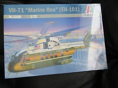 VH-71 Marine One 1:72 scale Italeri Model Kit 1268