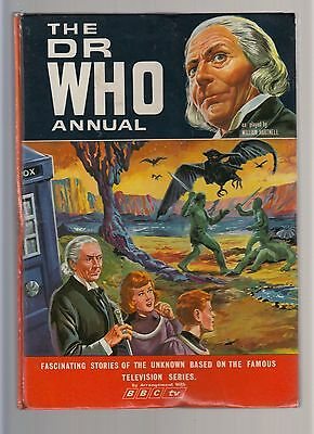 The Doctor (Dr) Who Annual -1966-unclipped-William Hartnell-BBC TV-Rare