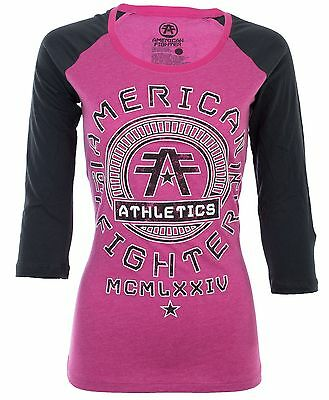 AMERICAN FIGHTER Womens T-Shirt PARK RIDGE Athletic UFC Sinful $40