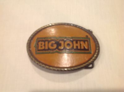 "John Deere ""Big John"" Belt Buckle never used"