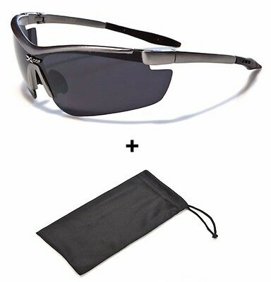 Mens Black Sports Sunglasses Polarized UV400 Outdoor Cycling Driving NEW Sale
