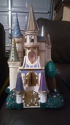 Rare Beauty and the Beast Castle Collectable Toy 1998