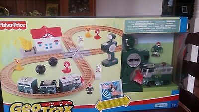 Fisher price Geo Trax the adventurous team starter set