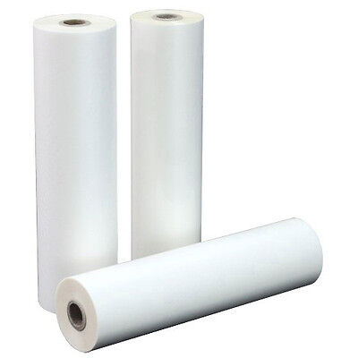 """10 mil Thermal Clear Laminating Rolls 12"""" x 100' Box of 2"""