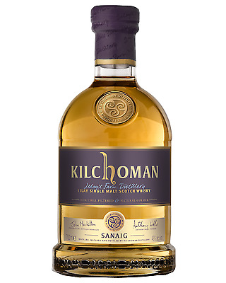 Kilchoman Sanaig Single Islay Malt Scotch Whisky 700mL bottle Single Malt
