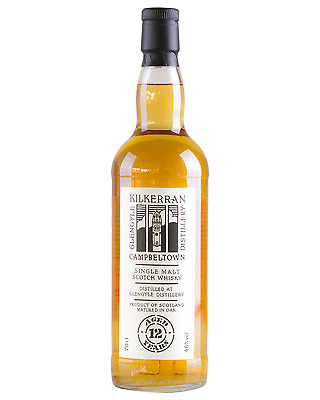 Kilkerran 12 Year Old Single Malt Scotch Whisky bottle 700mL