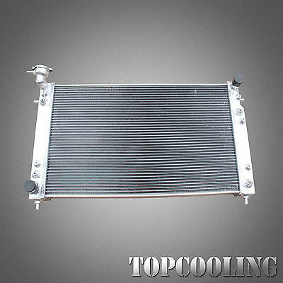 Aluminum Alloy Radiator 2 Row Fit Holden Calais Commodore VT VX V6 3.8L AT 97-02