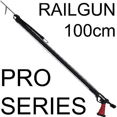 100cm Speargun Spear Gun Rail Railgun Rob Rubber Spear Fish Spearfishing