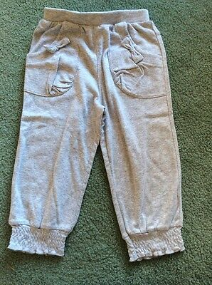 Marquise Girls Track Pants Size 1 Grey New