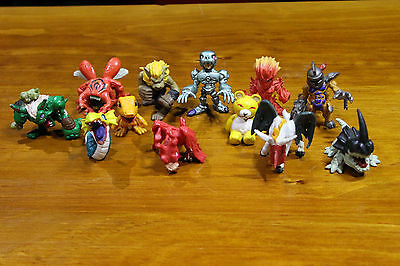 Digimon Plastic Figurines/Toys/Figure - Collectable - Set of 12
