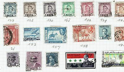 Iraq mixed   Stamp selection