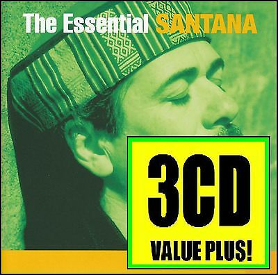 Santana (3 Cd) The Essential 3.0 Limited Edition ~ Greatest Hits / Best Of *new*