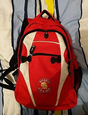 Boags red xxx back pack. Brand New