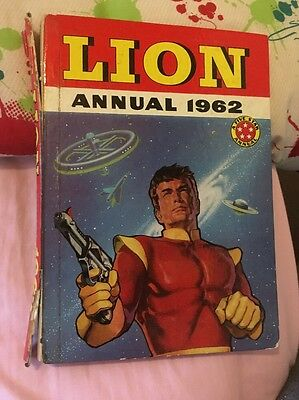 Lion Annual 1962 - Vintage Children's Annual