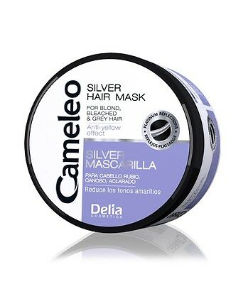 Delia Cameleo Silver Hair Mask For Blond Bleached Grey Hair