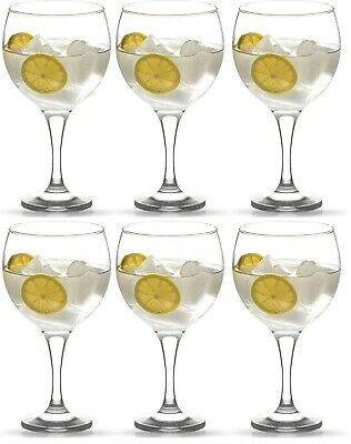 ON SALE! Box of 6 Gin Balloon Copa Spanish Cocktail gin tonic Glasses 645ml G&T