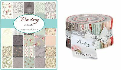 Quilting Fabric Jelly Roll - Moda - Poetry