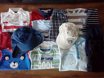 Bundle Of Baby Boys Clothes 6-9 Months Next Mothercare Nutmeg Shorts T-shirts ++