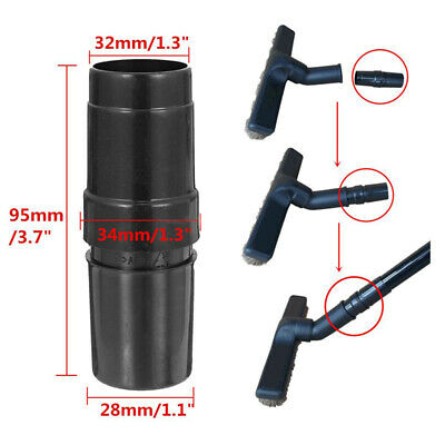 Universal 28mm to 32mm ABS Vacuum Cleaner Hose Adapter Converter Attachments