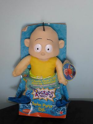 Vintage Rugrats Swim Party Dil Toy.1999.In box.He really floats In his innertube