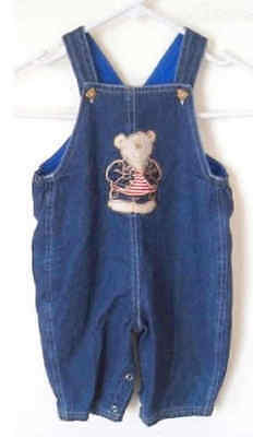 Baby Lined Denim Overalls size 00
