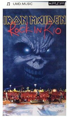 Iron Maiden - Rock In Rio [UMD Mini for PSP] - DVD  MAVG The Cheap Fast Free