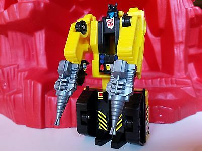 Transformers G1 European Rescue Force Drill Tank