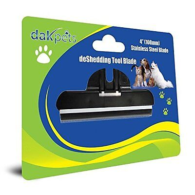 DakPets Deshedding & Pet Grooming Replacement Comb For Small, Medium & Large Dog