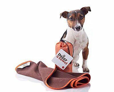Microfibre Doggy Towel - Superabsorbent quick drying dog towel : Small
