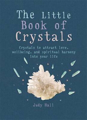 NEW The Little Book of Crystals By Judy Hall Paperback Free Shipping